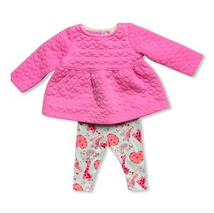 Pink Cat & Jack Baby Outfit
